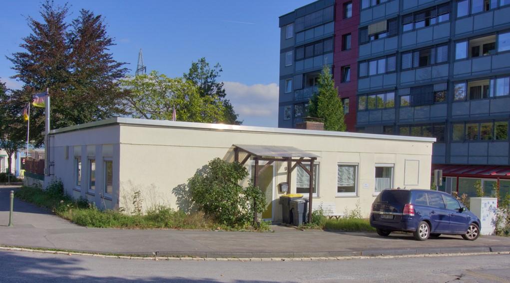 Bungalow als Wohn- und Geschäftshaus